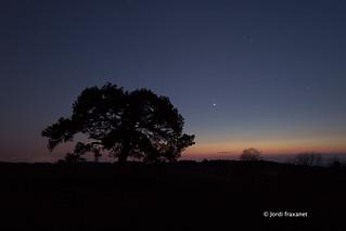 Venus and Mart conjuntion | by jordi.fraxanet