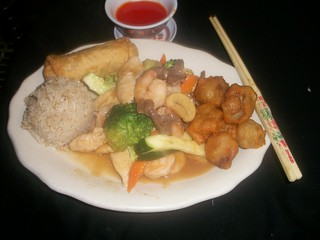 C4 Triple Deluxe and Sweet & Sour Pork | by Golden Gate Chinese Restaurant