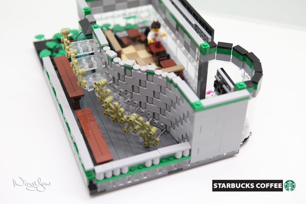 Lego MOC Starbucks Cafe (25) | Support LEGO IDEAS: ideas leg… | Flickr
