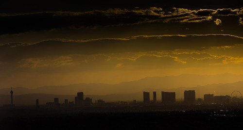 city las vegas night clouds sunrise landscape