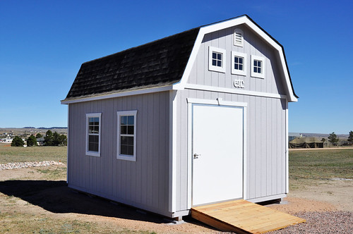 Superior 8 King Barn Sunset Sheds And Garages Colorado