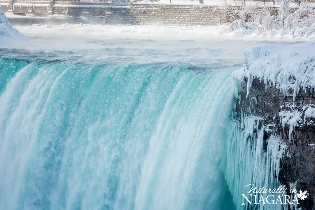 Niagara Falls Frozen Over Extremely Cold Temperatures Caus