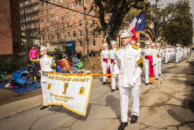 Ross Volunteer Company at Mardi Gras