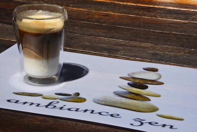 Un café Ambiance Zen