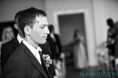 Rob & Laura Wedding: deep in thought