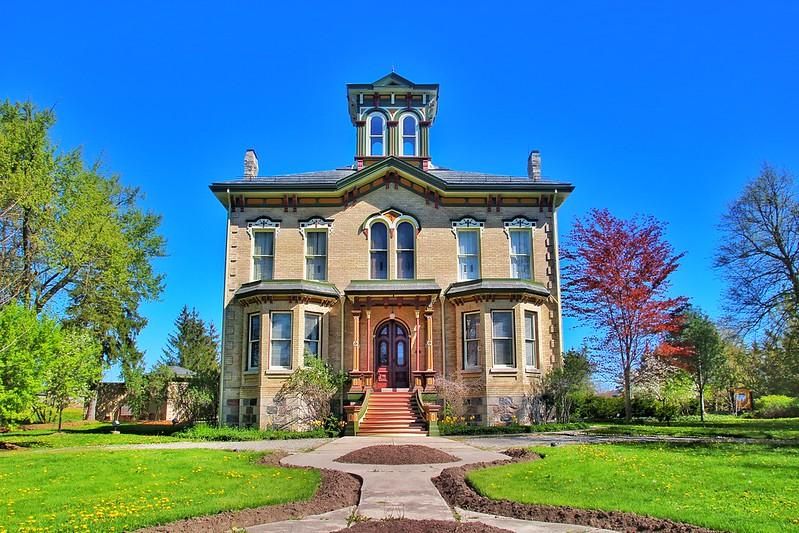 Waterloo Ontario  ~  Canada ~ Braden ~ Castle Kilbride ~ National Historic Site Of Canada