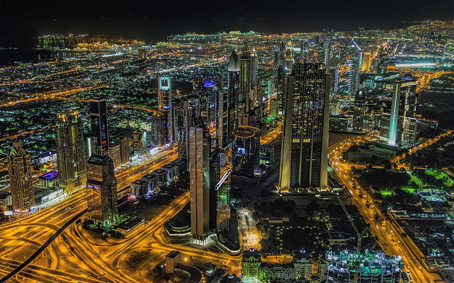 Dubai...dal 124° piano del Burj Khalifa