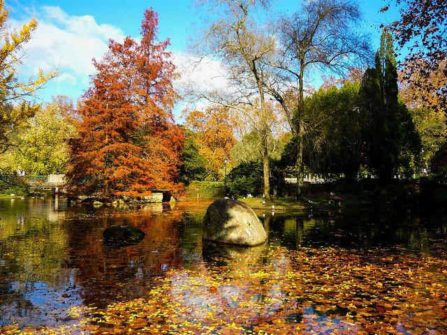 Autumn pastel - Castrelos Park, Vigo