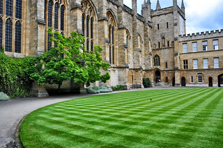 Oxford University New College Yard | by aagay