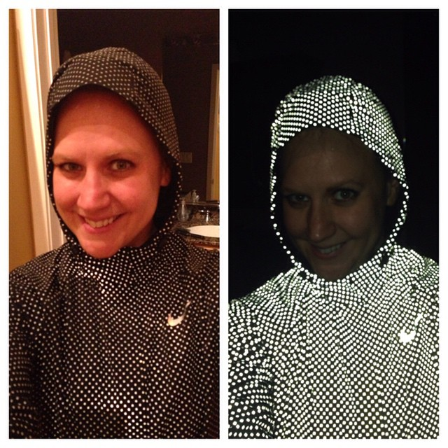 6edaa440770f3 This is awesome No flash vs Flash in the Nike Shield Flash Max running  jacket. This is awesome