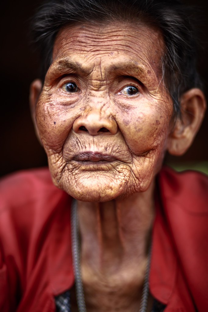 Woman old asian Woman accused
