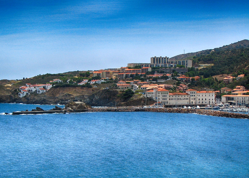 Beautiful villages at the French coast