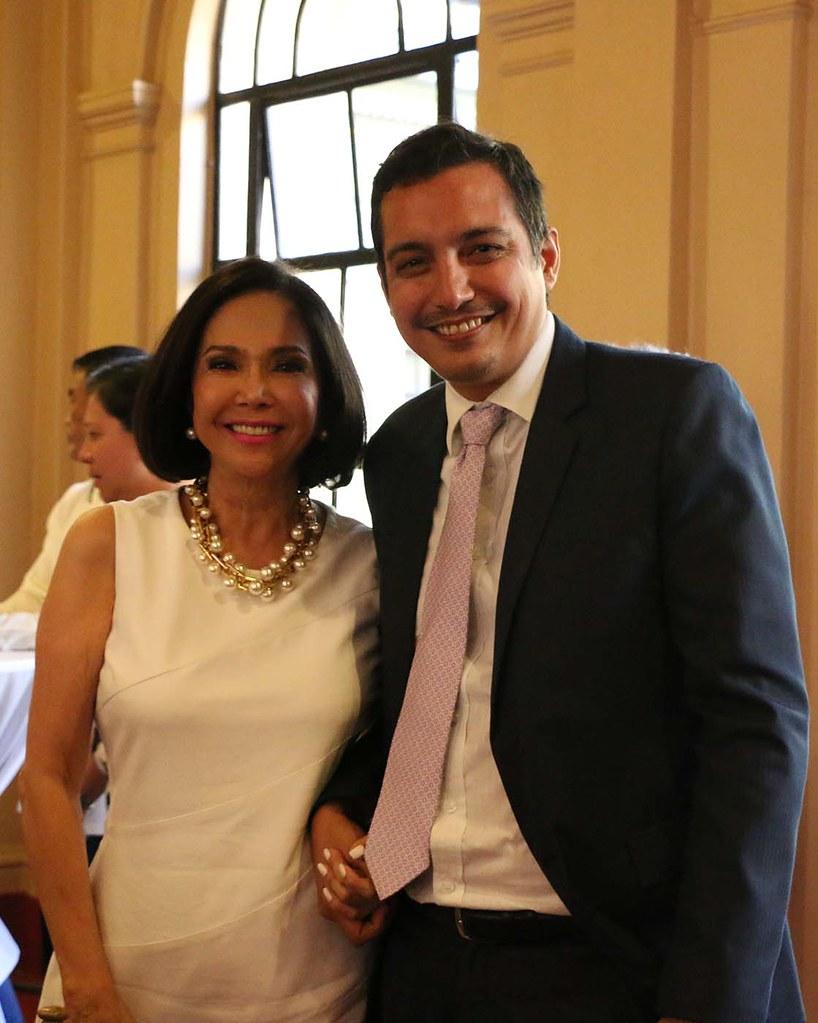 Fortune A  Ledesma, Consul General of Monaco to the Philip