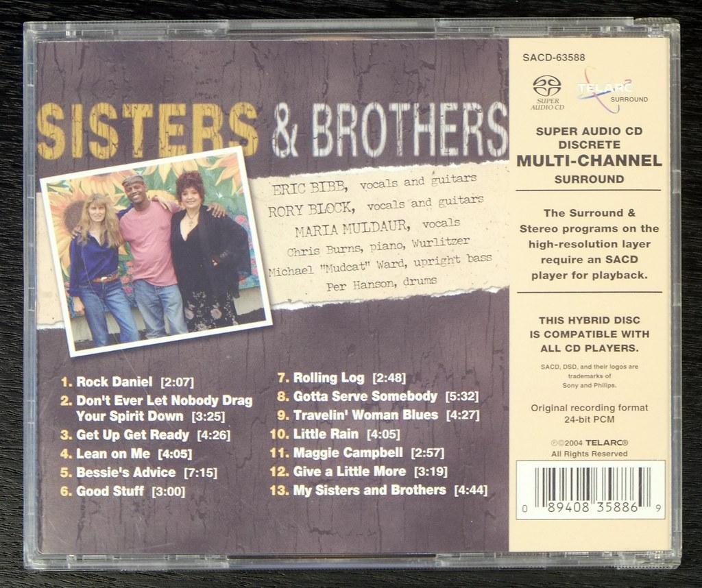 Eric Bibb Sisters Brothers Sacd Eric Bibb Sisters Brothers Flickr