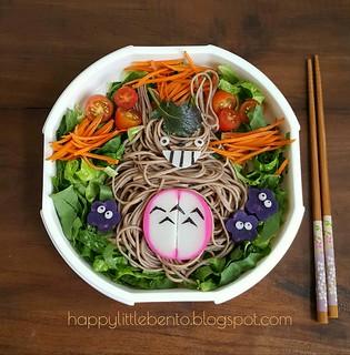 Totoro Soba Bento! | by sherimiya ♥