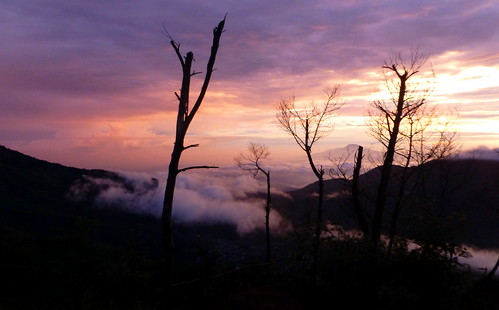 morning mountains nature sunrise indonesia landscape dieng