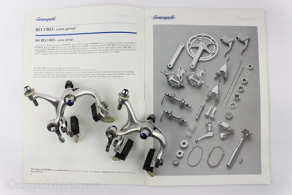 Campagnolo Cobalto : 1986 (Catalogue n 18bis) | The brakes s… | Flickr