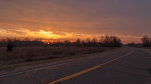 Road Golden Sunrise, 12/21/14 | by Tyr-Sog