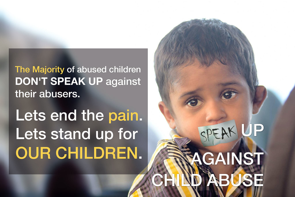 Ibthilaal against child abuse and save the children  | Flickr