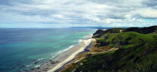 ocean travel sea newzealand summer nature sunshine landscape