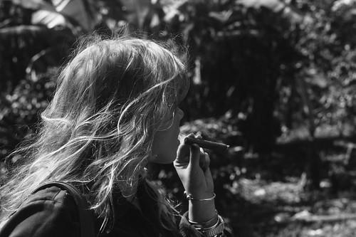 Enia's first cigar | by neil alejandro