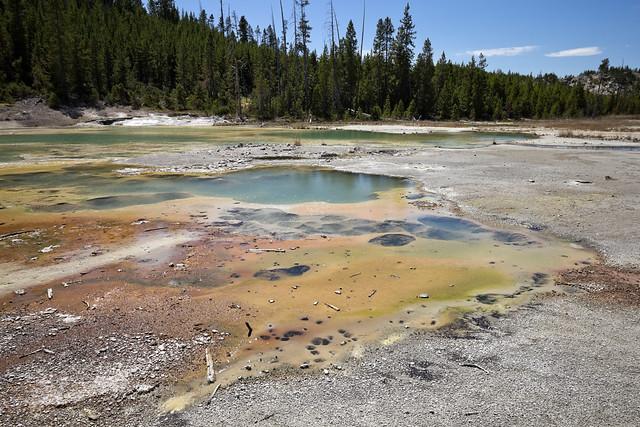 Crackling Lake, Porcelain Basin, Yellowstone National Park, Park County, Wyoming 2