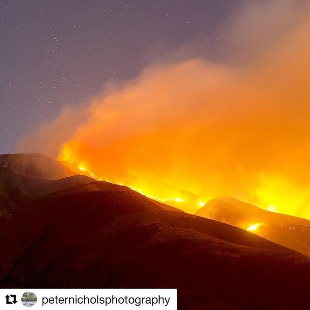 We appreciate the brave men and women battling the enormous Sobranes fire, and our hearts go out to all affected by it. This Friday we'll be donating $1 from every pint sold at both the Monterey Brewpub and the Salinas Tasting Room to the Soberanes Fire F