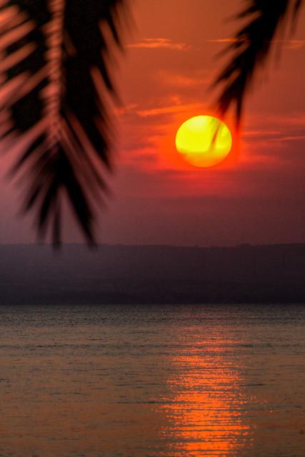Sunset in Eritrea
