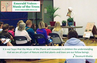 We hope so, too, Devmurti! #childrenareourfuture #natureinschools Support Emerald Voices - Music of the Trees and the wonderful work they are doing with #singingplants in Canada!