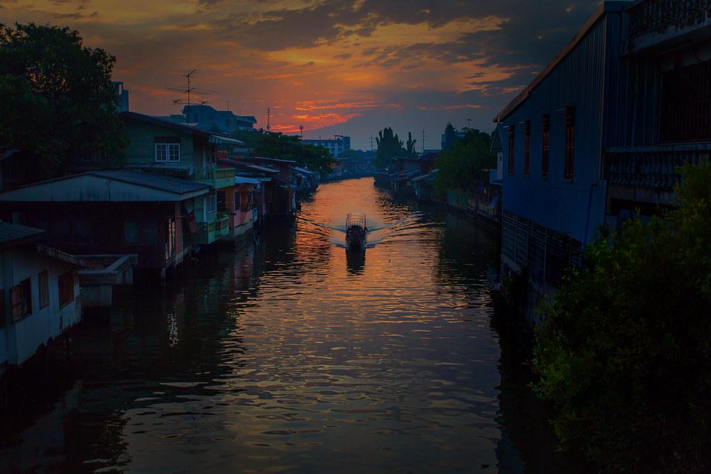 Chao Praya river Bangkok