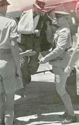 17 de Mayo de 1944 El General Kreipe llega a El Cairo