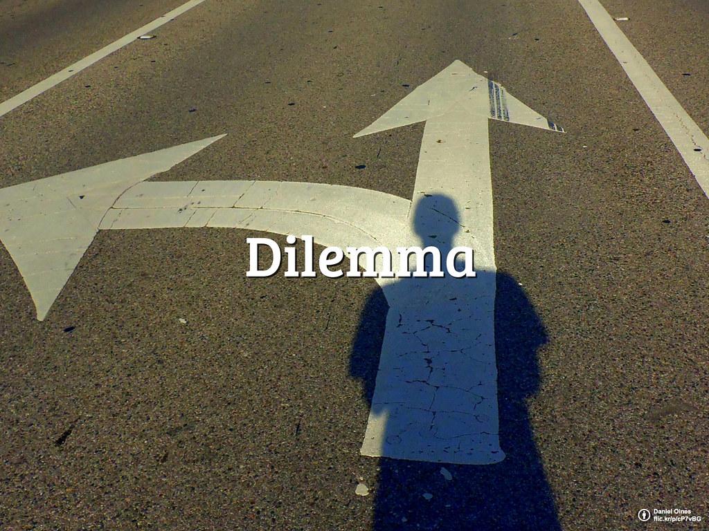 #FlickrFriday: Dilemma