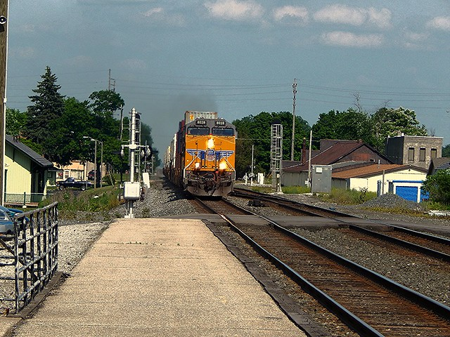 Union Pacific at Waterloo Indiana