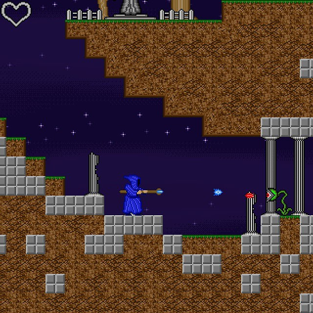 Play Pixel Staff on #android #ios or #ouya #8bit #16bit #3