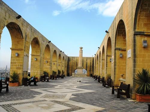 The Barrakka Gardens, Valletta   by leonyaakov