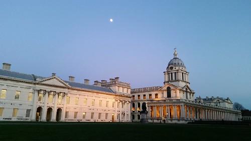 Old Royal Naval College at dusk | by flicksmores