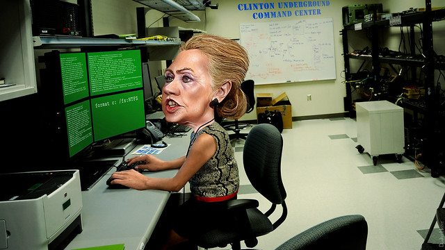 Hillary Clinton's Underground Communications Center
