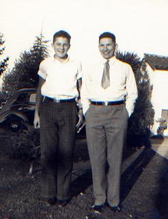 George & dad 1937