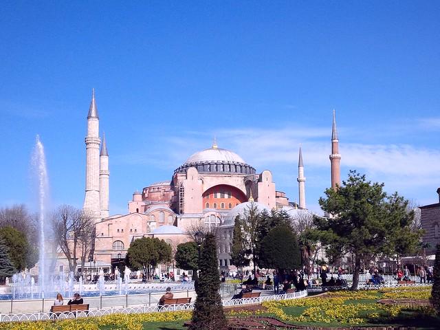 Hagia Sophia and public park