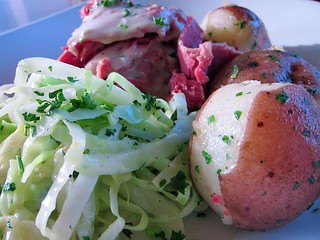 corned beef and cabbage | by Fado Irish Pub
