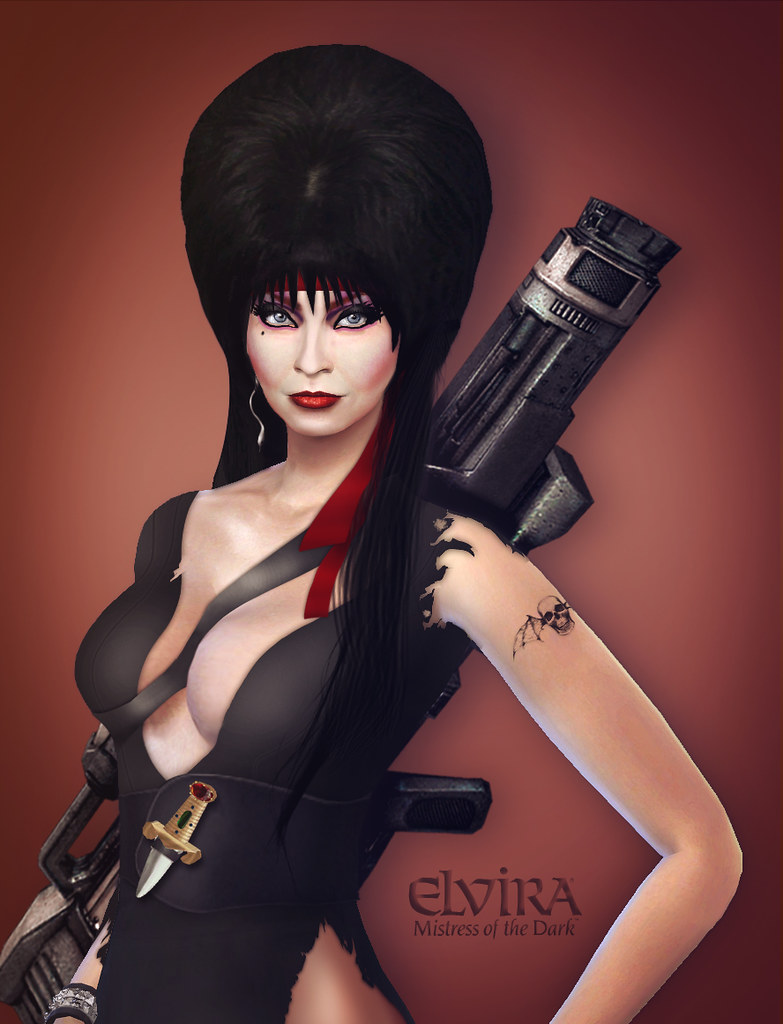Elvira Look Movie Rambo | Hair, Dress and accesories is Phot