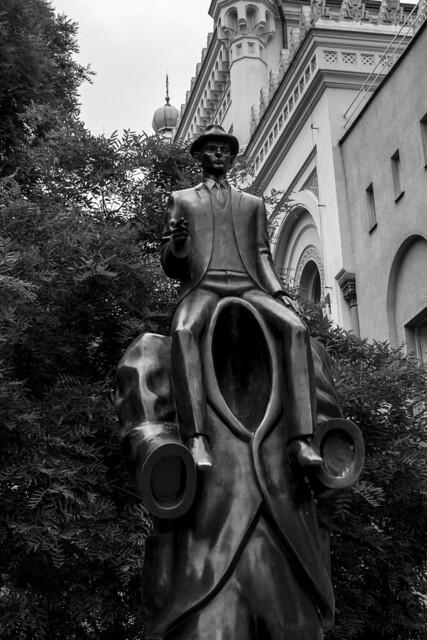 Cezch Republic - Prague - Franz Kafka monument