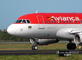 Avianca Brasil A318 front (E.Moura)