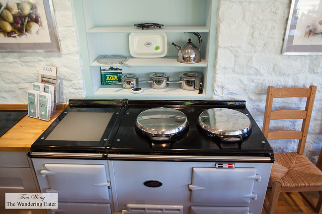 Antique (but cute) oven and stovetop