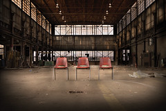Factory And Chairs