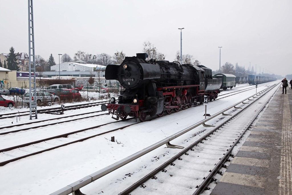 Dampflok Lichterfelde-West 15.12.2012