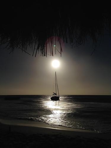 sunset sailboat stlucia tikihut iphone saintlucia ansechastanet iphone5 iphoneography iphonenography maximumchillin