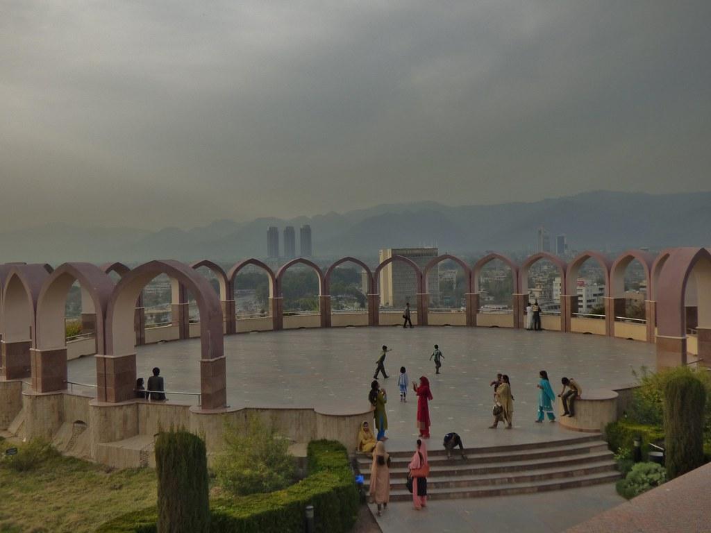 The City of Islamabad from Shakarparian Park, Pakistan - M