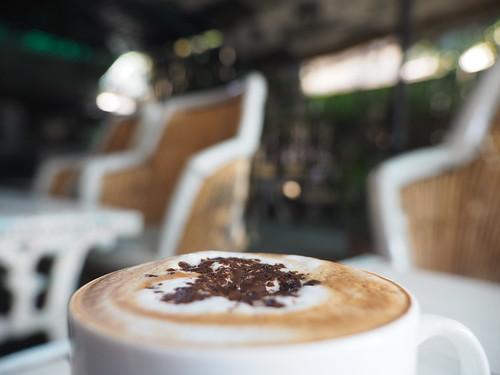 Cup of Cappuccino Café Coffee - Tasse Cappuccino Kaffee (c)