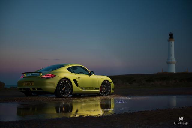 Porsche Cayman R, Aberdeen